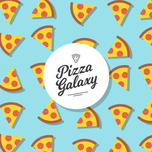 Pizza Pattern Background Free Download