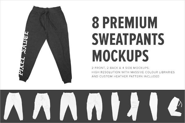 Premium Gym Sweatpants Mockups