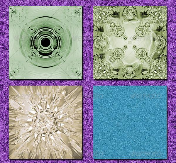Print Design Colorful Textures