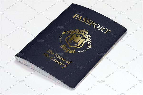 Printable Passport Mockup