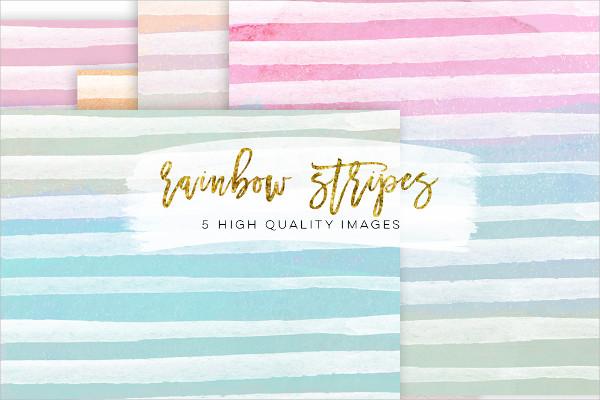 Rainbow Stripe Texture