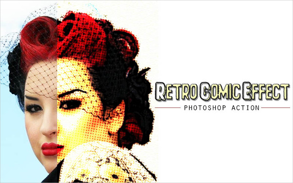 Retro Comic Photoshop Action