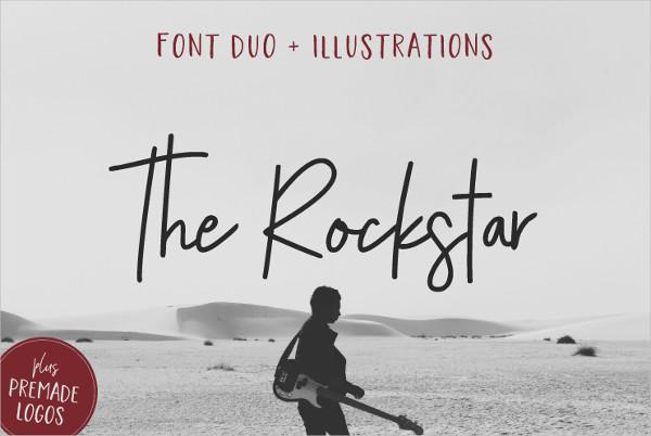 Rockstar Font Duo
