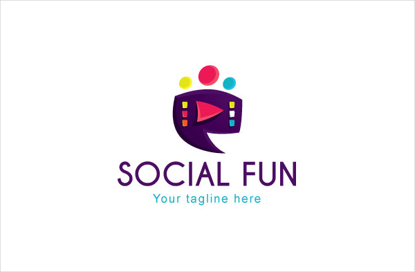 Social Fun Logo Design