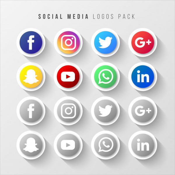 Social Media Logos Pack Free Download