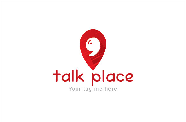 Social Talk Place Logo Design