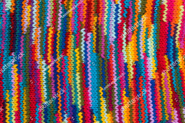 Striped Colorful Wool Textures