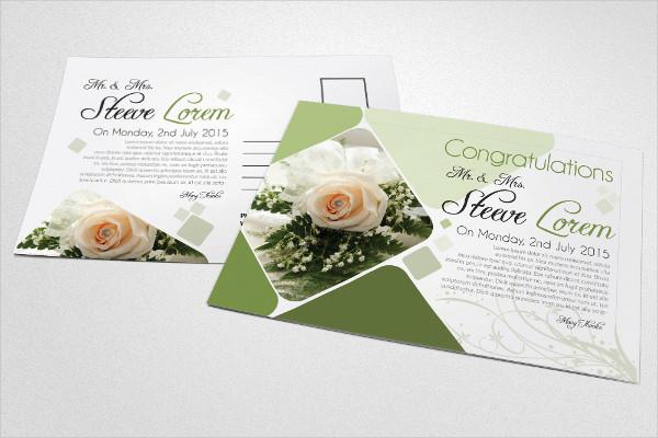 Stylish Invitation Postcards