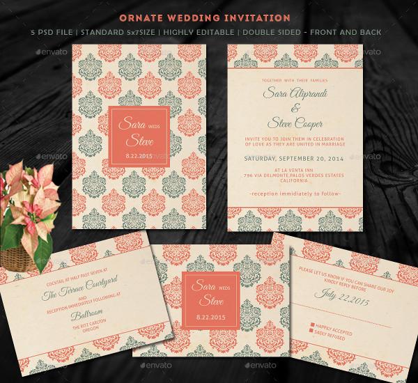 Stylish Save the Date Card Design