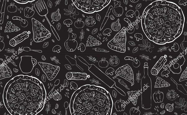 Unique Pizza Patterns