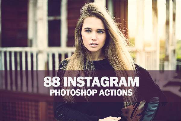 88 Instagram Photoshop Action Collection