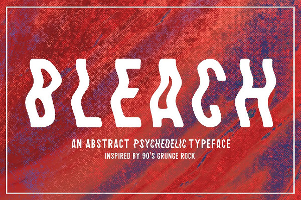 Abstract Sans-Serif Typeface Font
