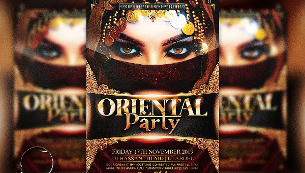 17+ African Party Flyers