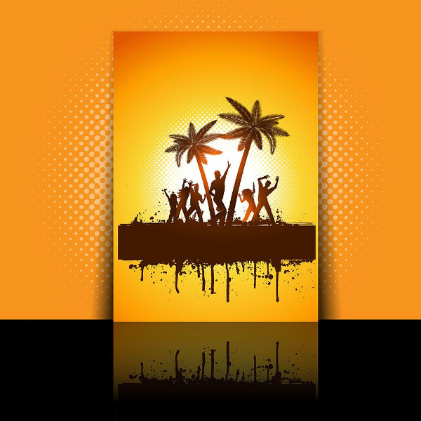 African Summer Party Flyer Free Download
