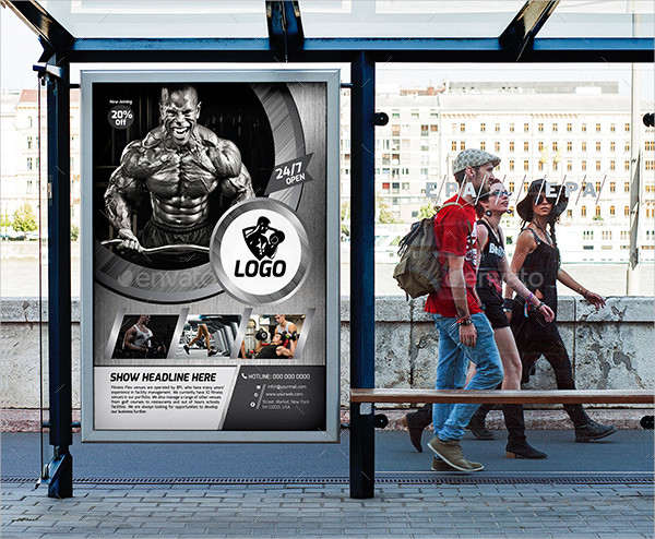 Best Fitness or Gym Poster Template