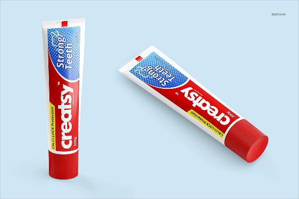 Best Toothpaste Tube Mockups Set
