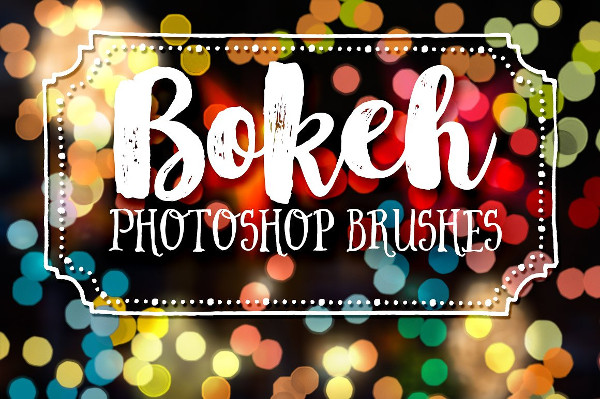 Bokeh Photography Photoshop Brush Collection