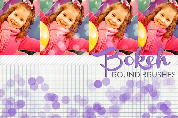 Bokeh Round Brush Set