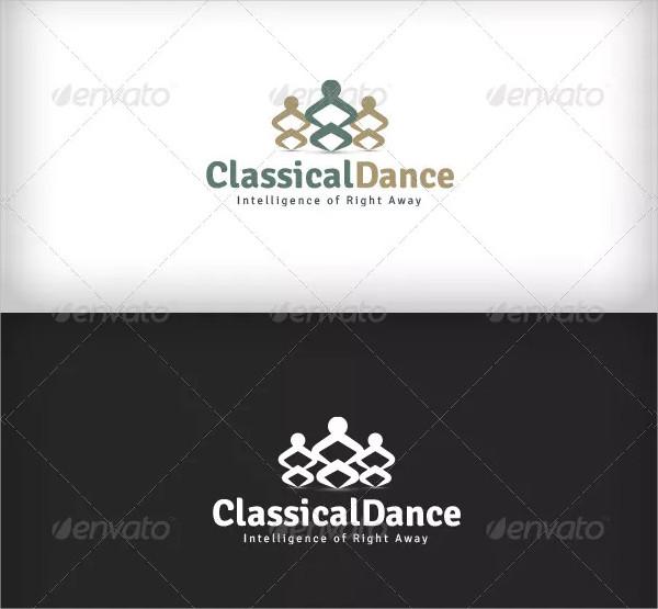 Classical Dance Logo Design