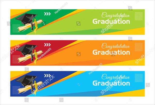Congratulation Graduation Banners