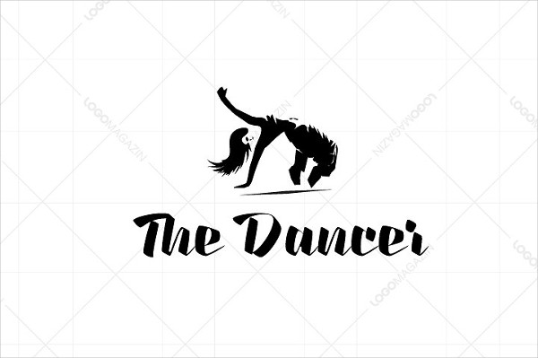 Cool Dance Logo Template