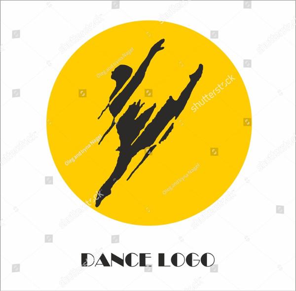 Cool Dancing Logo Template