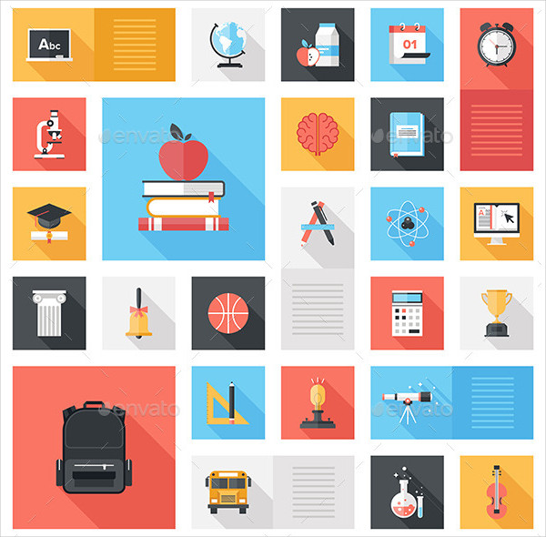 Cool Educational Icons