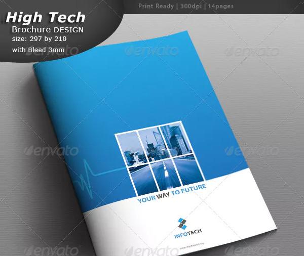 Cool Industrial Brochure Design