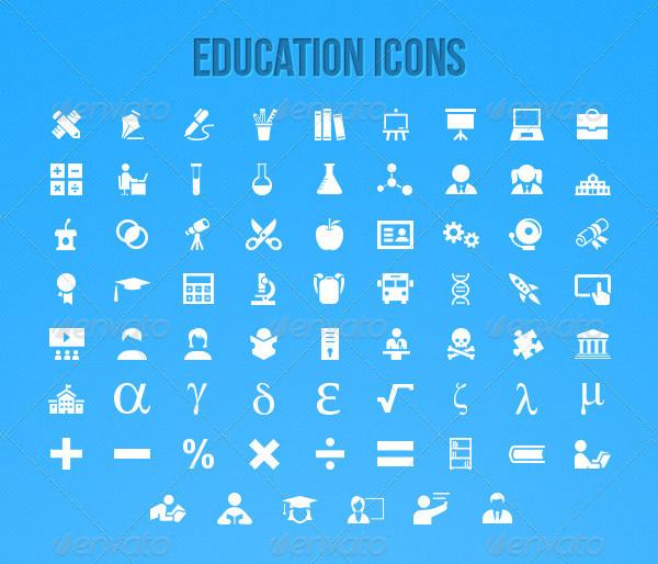 Custom Education Icon Ultimate Pack