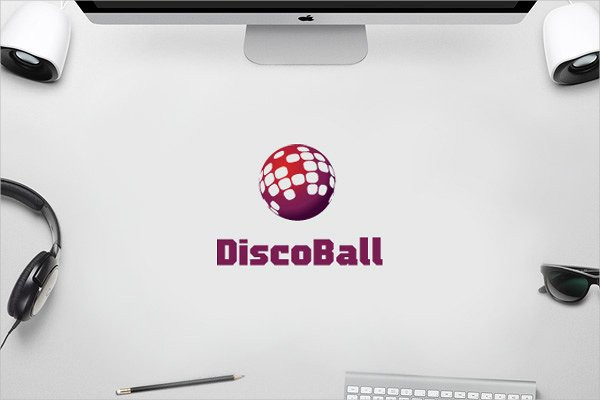 DJ World Music Logo Template