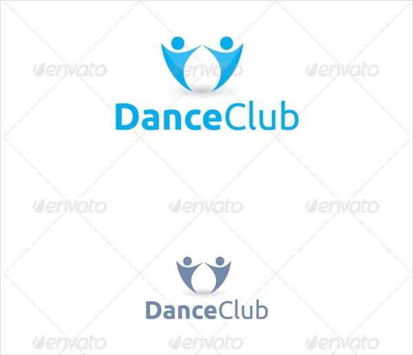 Dance Club Logo Template