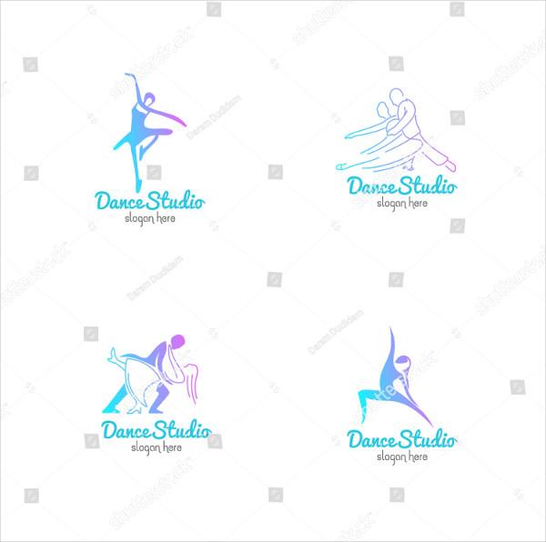 Dance Studio Logos Design