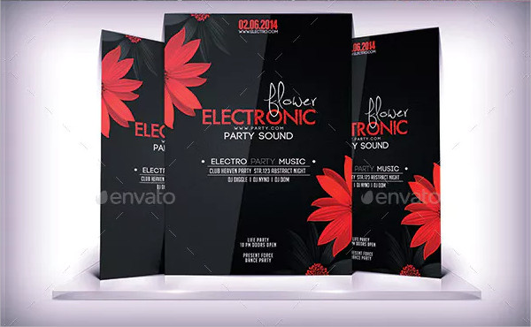 Electronic Floral Flyer