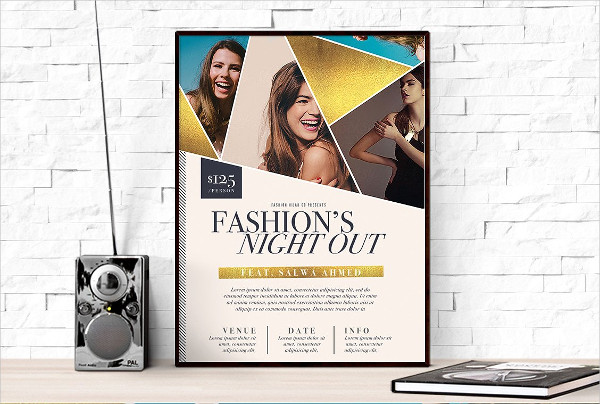 Fashion Week Poster Template