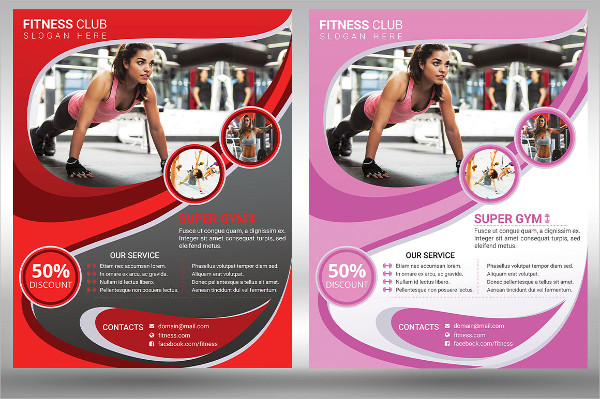 Fitness And Gym Poster Design