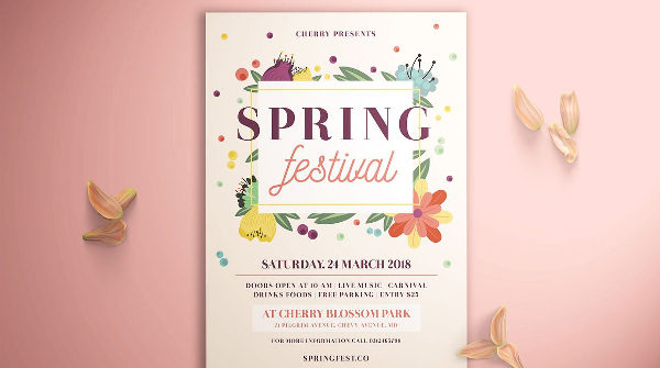25+ Floral Flyers