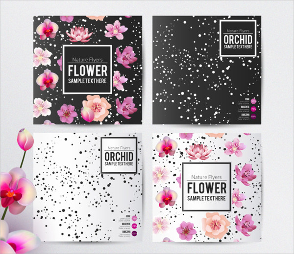 Floral Flyers Template Free Download