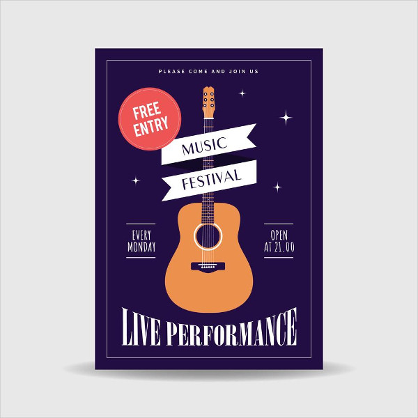 Free Download Music Festival Poster