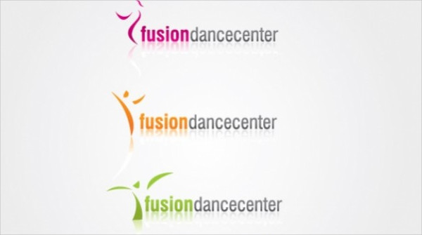 Fusion Dance Center Logo Free Download