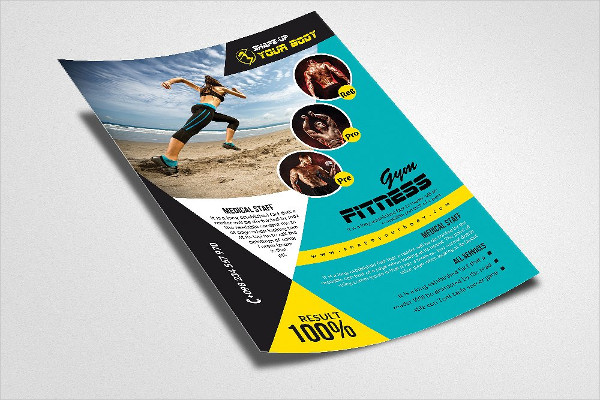 Gym PSD Poster Templates