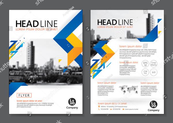 Industry Brochure Template Design Vector Illustration