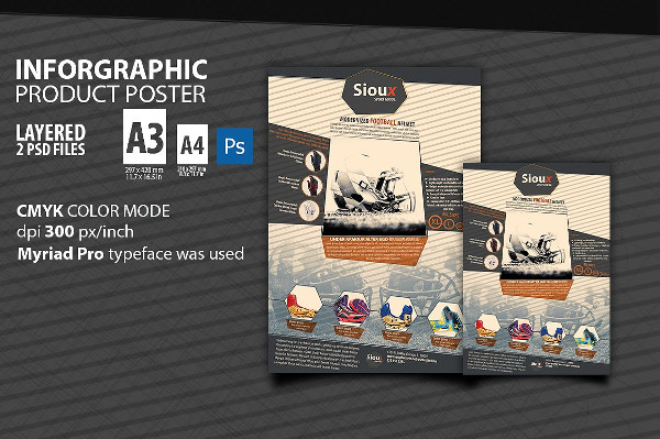 Infographic Product Poster Template