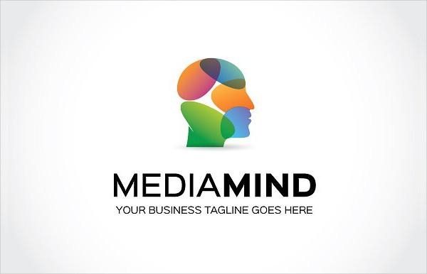 Media Mind Logo Template