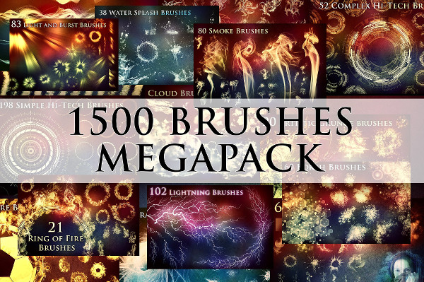 Mega Brushes Pack
