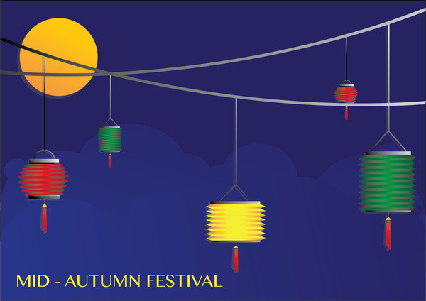 Mid-Autumn Festival Background Free