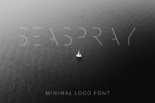 Minimal Logo Font