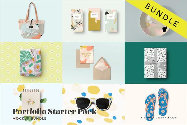 Mockup Bundle Portfolio Starter Pack