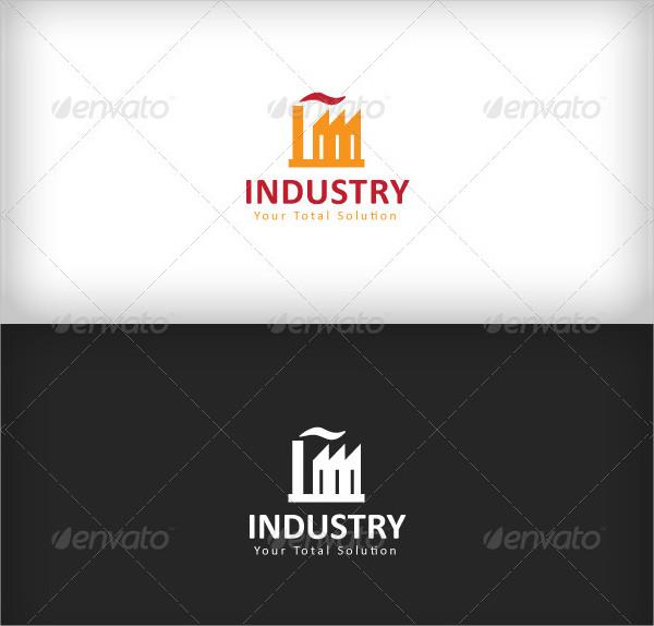 Modern Industrial Logo Design