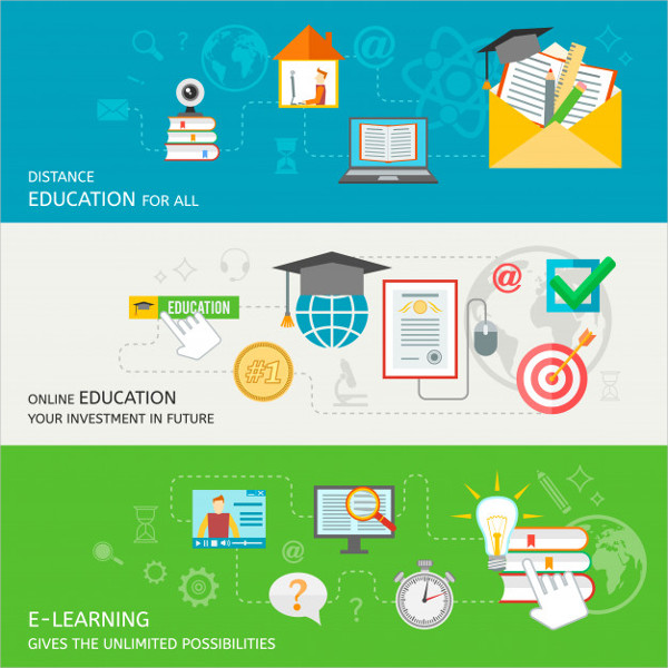 Online Education Banner Free Download
