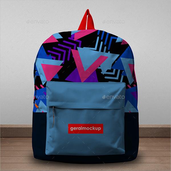 PSD Backpack Mockup Template